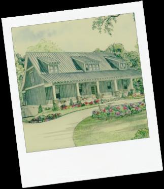 Abba House Poloroid