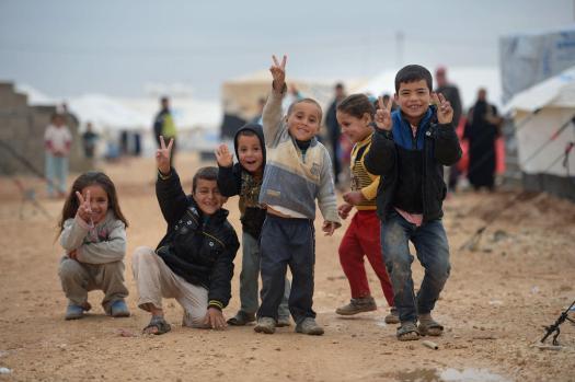 Thousands Of Syrian Refugees Seek Shelter In Makeshift Camps In Jordan